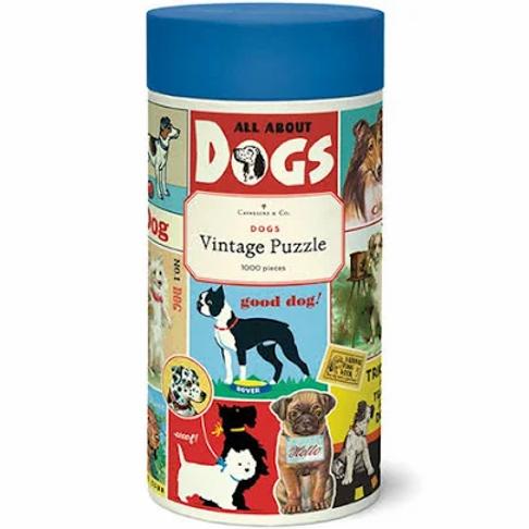 Cavallini Vintage Dogs - 1000 Pc.