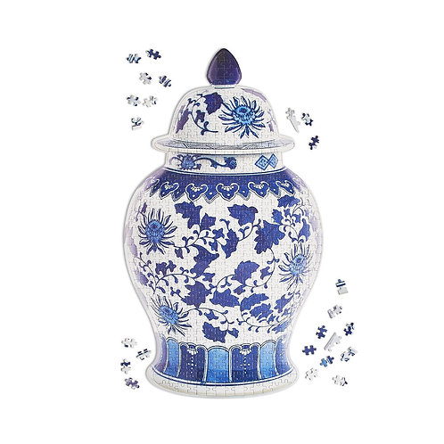 Chinoiserie Chic Ginger Jar Puzzle, 500 pc.