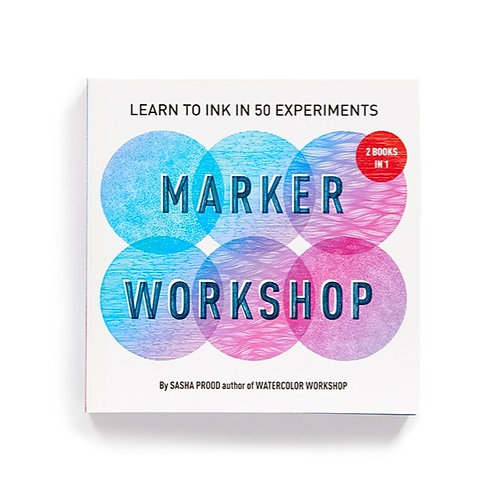 Marker Workshop: Two Books in One