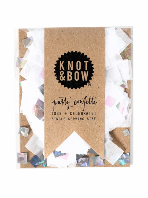 Metallic Party Confetti by Knot & Bow