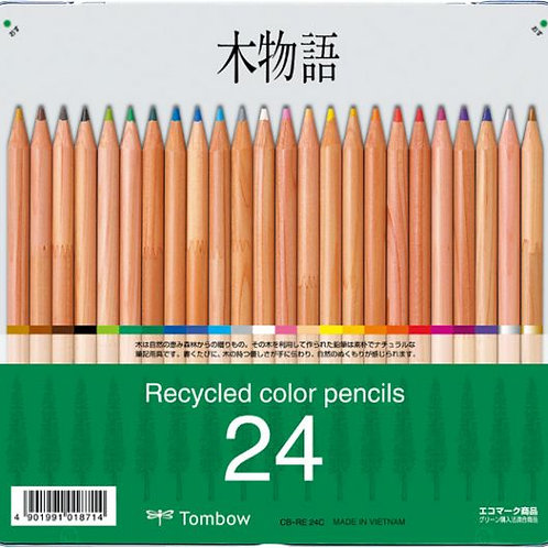 Tombow Recycled Colored Pencil Set of 24