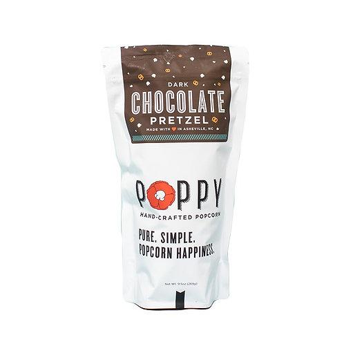 Dark Chocolate Pretzel Popcorn