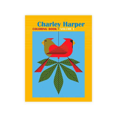 Charlie Harper - Vol. 1 Coloring Book