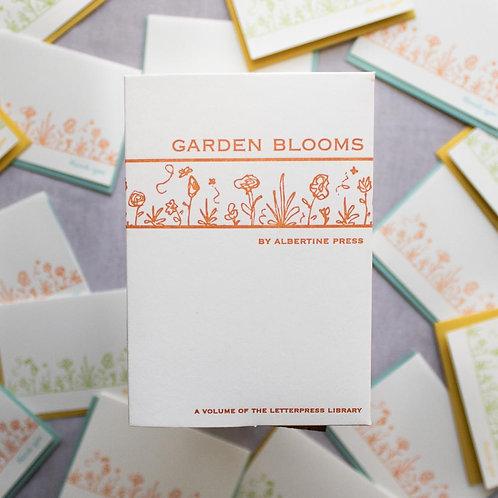 Garden Blooms Letterpress Thank You