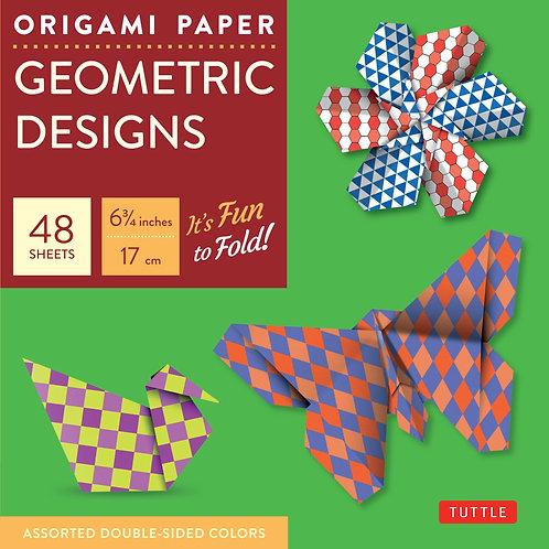 Origami Paper - Geometric Designs