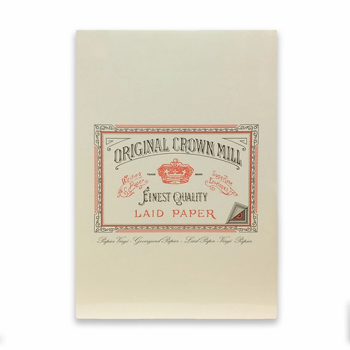 Original Crown Mill A4 Writing Pad - Cream