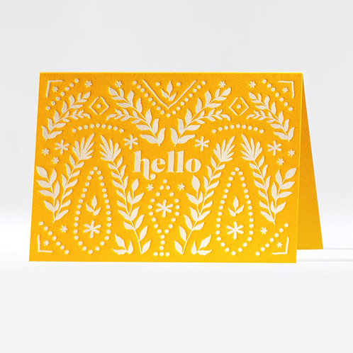 Prairie Hello Notecards