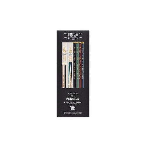 Set of Vintage No. 2 Pencils