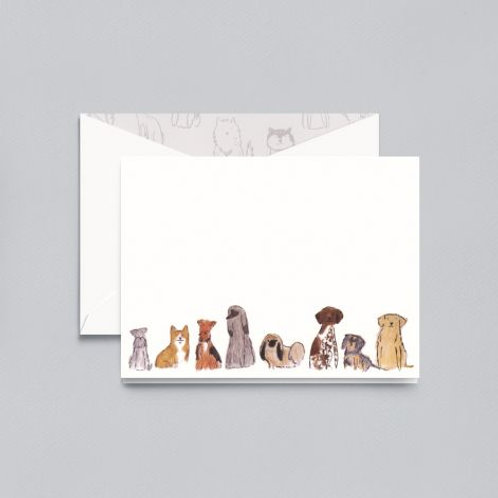 Dogs Notes - Box of 10