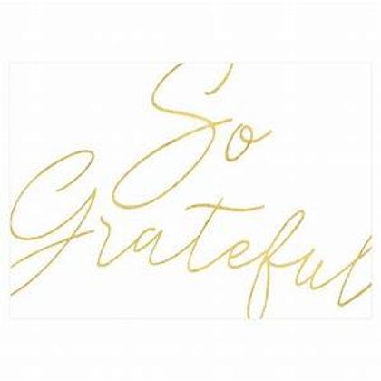 Caspari So Grateful Thank You Notes