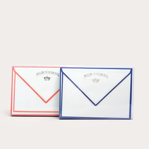 Color Edge Note Card Box