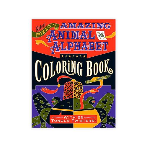 Amazing Animal Alphabet Coloring Book