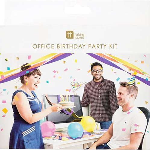 Talking Tables Office Birthday Party Kit