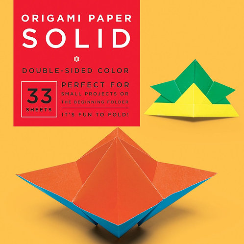 Origami Paper - Solid Colors