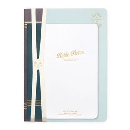 DesignWorks Ink Textured Soft Touch 2-Pack Notebook Set, Noble Notes