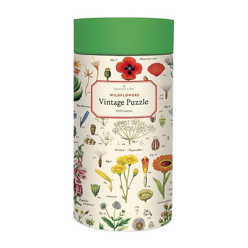 Cavallini Wildflowers - 1000 Pc.