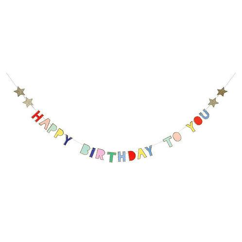 Birthday Mini Garland