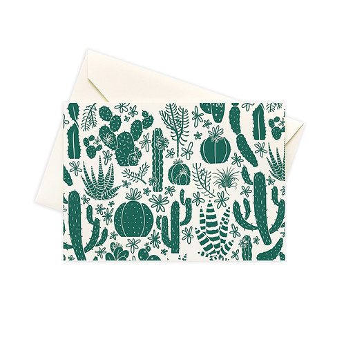 Cacti Boxed Notes - Set of 10