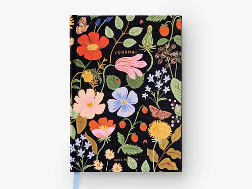 Strawberry Fields Fabric Journal by Rifle Paper Co.