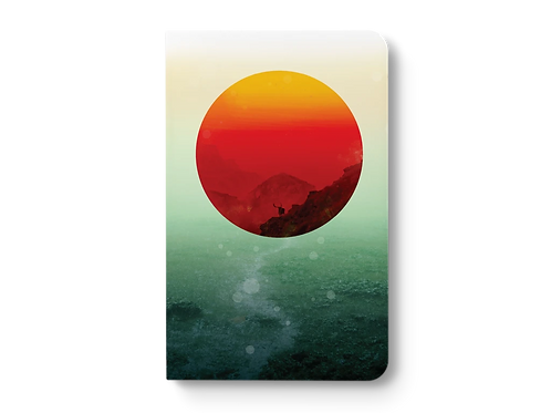 In The End The Sun Rises LayFlat Notebook by Denik