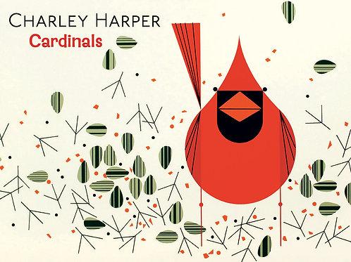 Charlie Harper: Cardinals - Boxed Notecards