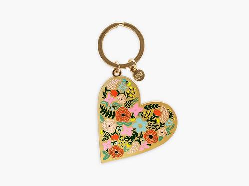 Flower Hearts Keychain