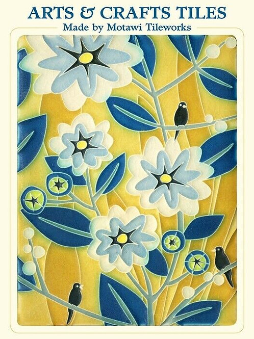 Arts & Crafts Tiles Notecards by Motawi Tileworks