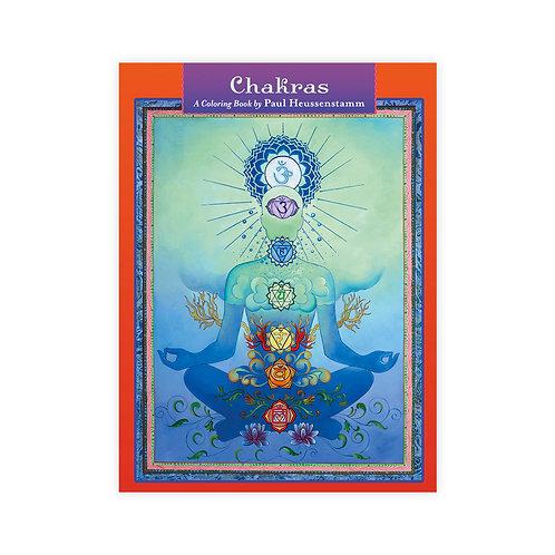 Chakras Coloring Book