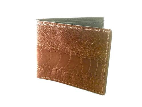 Ostrich Leg Sand Wallet wholesale (5 piece)