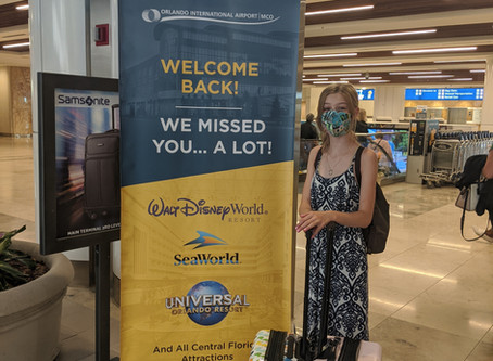 My experience at Universal Orlando and Walt Disney World during COVID