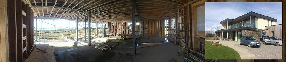 Steel Framed House / Southgate, Gower / JA Rewbridge Development Service