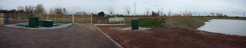 Sewerage Treatment Plant and Reed Bed / Nash / RSPB / Macgregor Smith Landscape Architect