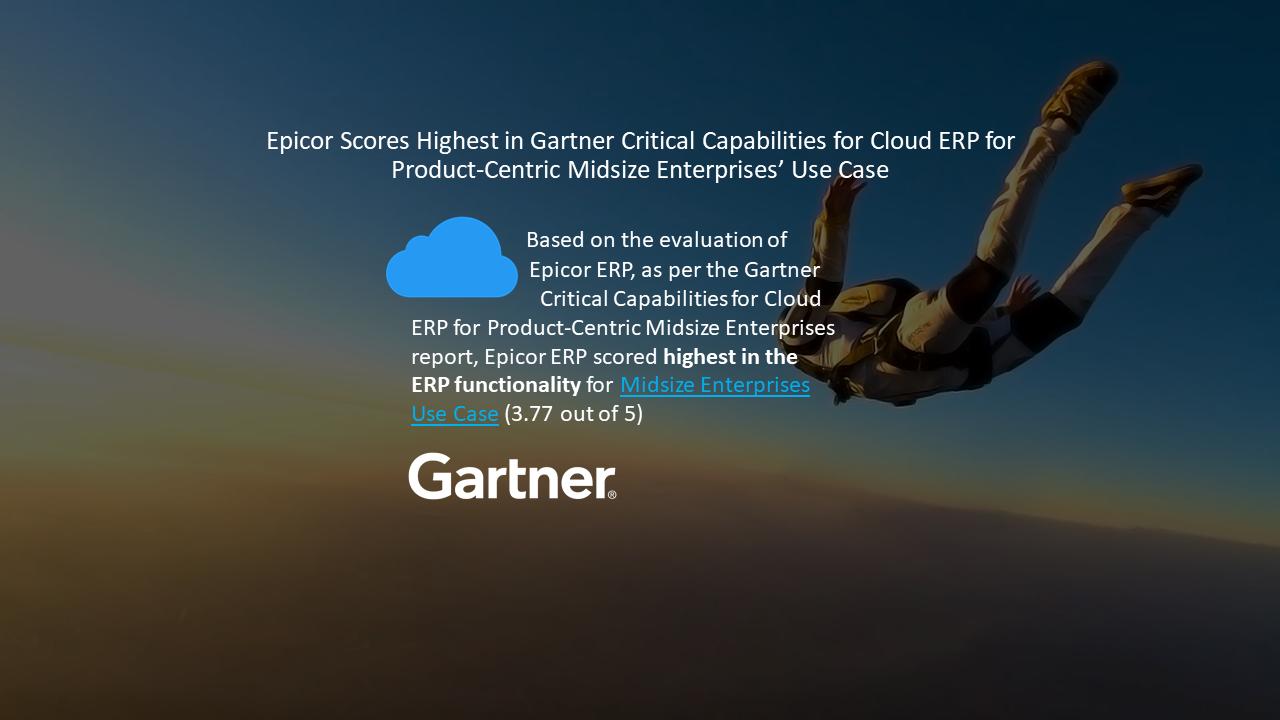 Epicor ERP Gartner