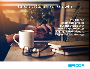 Epicor HCM Growth Culture