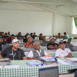 census 2020 seminar near Port Moresby