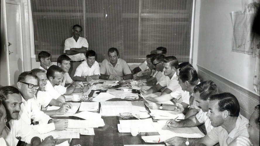 June/1966- Conference at D.D.A of Census officers.