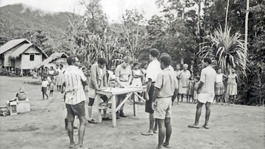 May/1967-Common Roll at Madilogo Village 40 miles from Port Moresby.