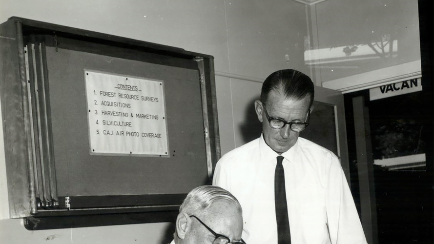 June/1966- Sir Donald and Mr Archer Commonwealth Statistican.