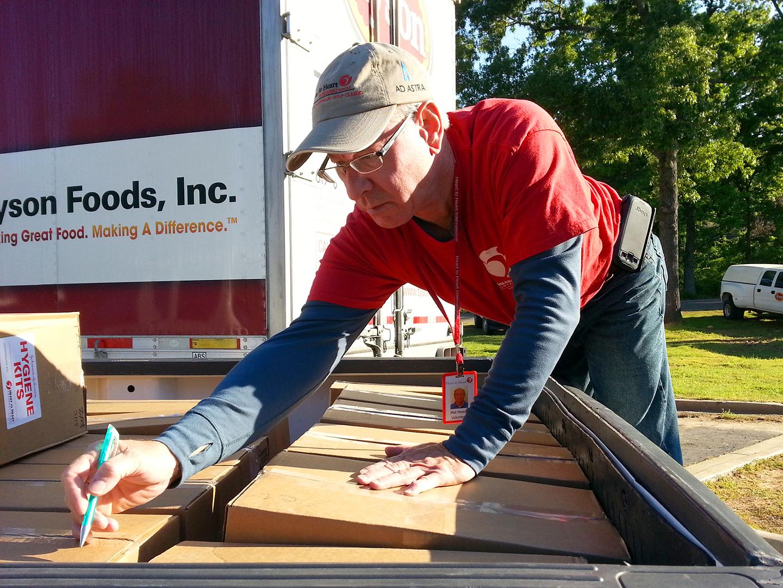 Volunteer - Arkansas Tornado