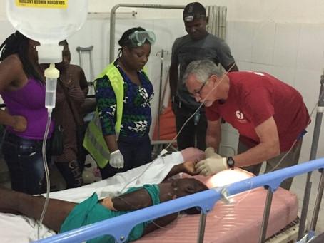 Serving in the Hospital ER in Haiti