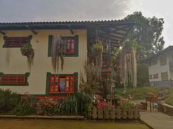 Edificaciones de la aldea.
