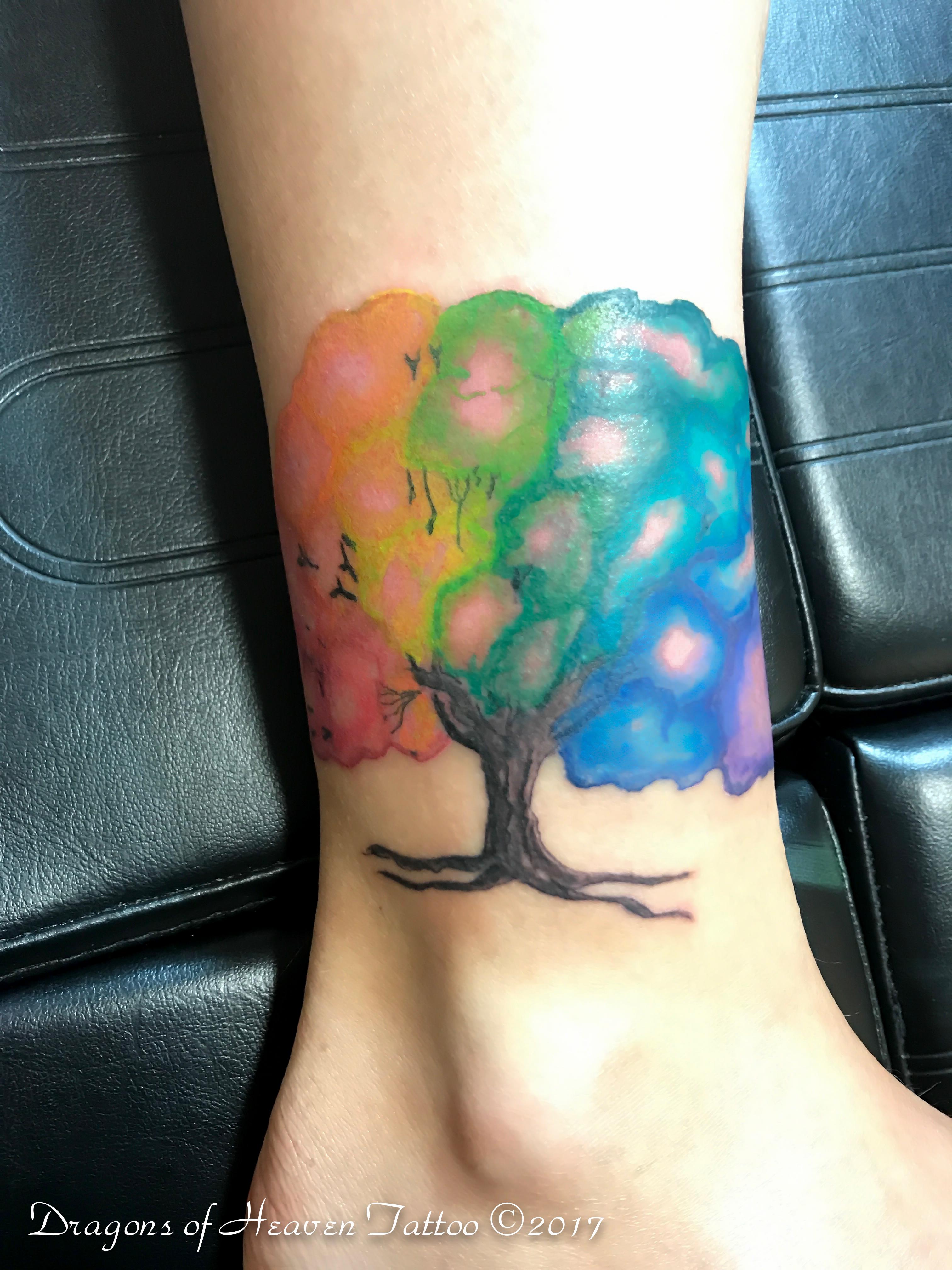 c87460ddc Watercolor Tree Tattoo