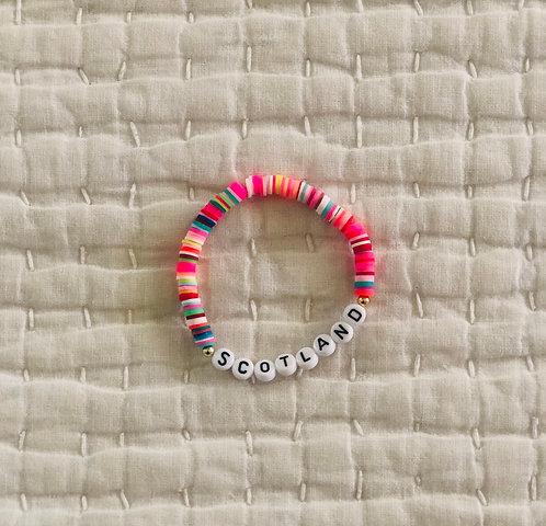 Custom fiesta bracelet