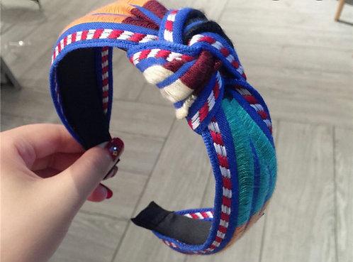 Royal blue headband