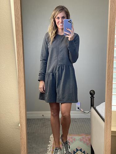 Kori dress in grey