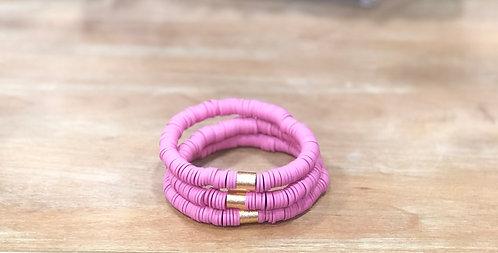 Barbie clay bracelet
