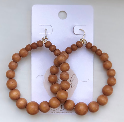 Chestnut wood hoops