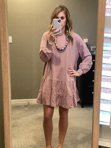 Mauve kendall dress