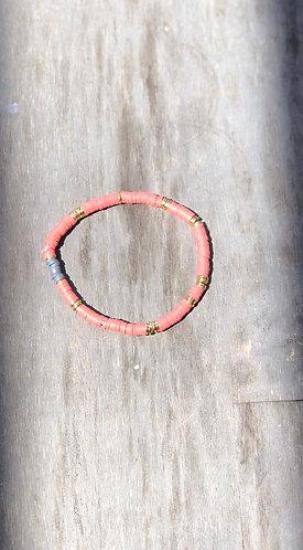 Coral Itsy bracelet