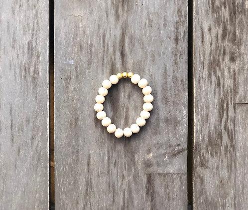 Neutral wood bracelet